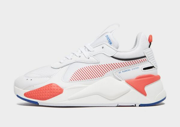 PUMA RS X WHT/H'RED/$ | JD Sports