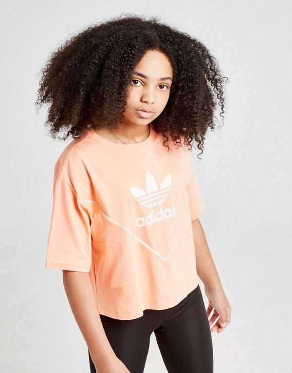 6cabe6891 adidas Originals Girls' Colorado Crop T-Shirt Junior | JD Sports