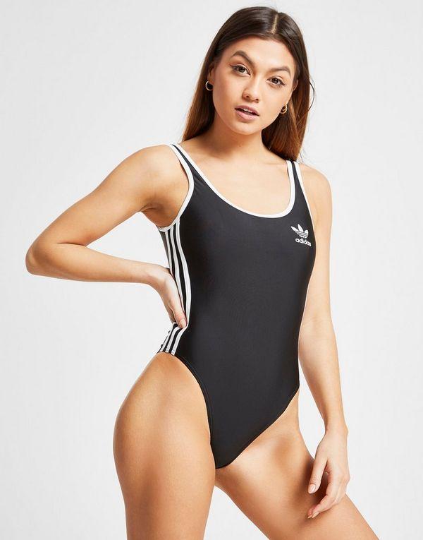 38ed7e2d4112 adidas Originals 3-Stripes Costume Donna | JD Sports