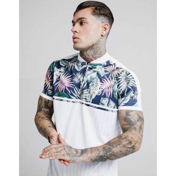 SikSilk camiseta Basketball Floral