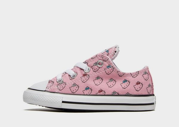 ac1d09390 Converse x Hello Kitty All Star Ox para bebé