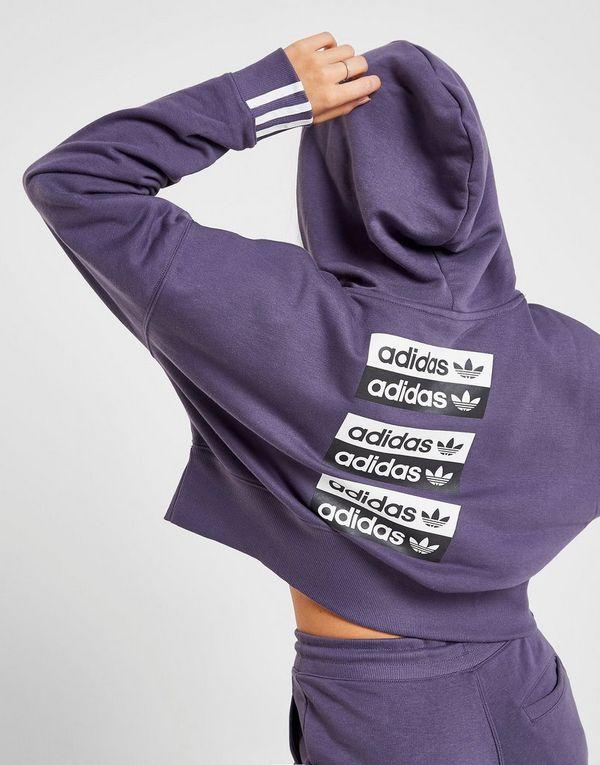 adidas Originals R.Y.V. Crop Hoodie