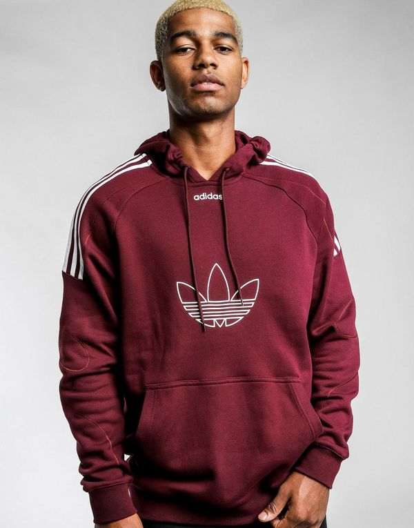3845802c1 adidas Originals Flock Trefoil Hoodie | JD Sports