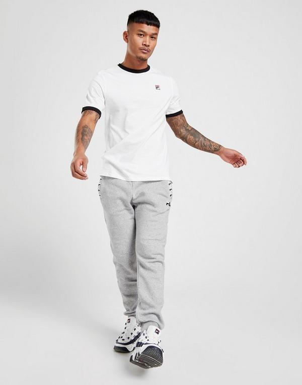 Køb Fila Short Sleeve Ringer T Shirt Herre i Hvid | JD Sports