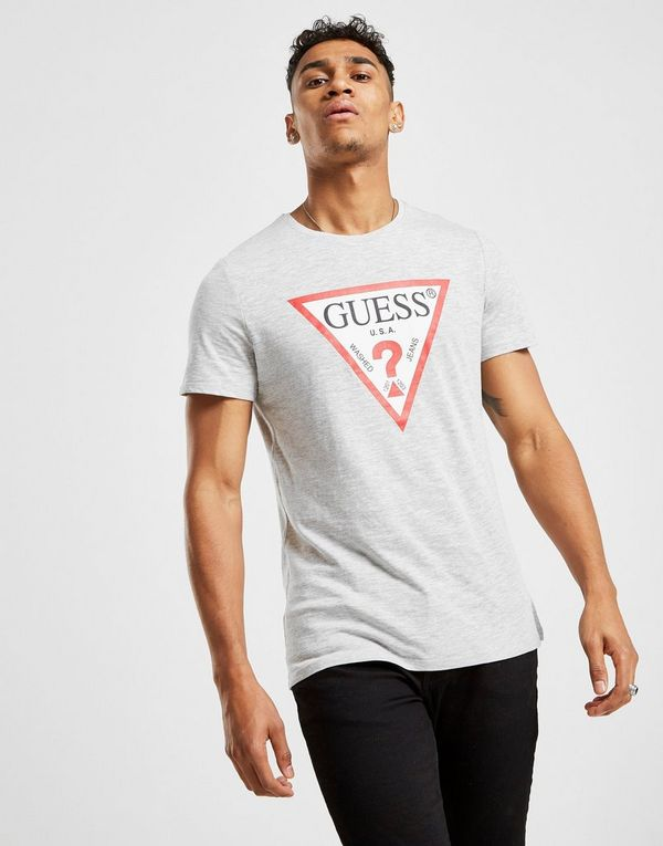 0855eba61f8 Guess Core Tri Logo Short Sleeve T-Shirt