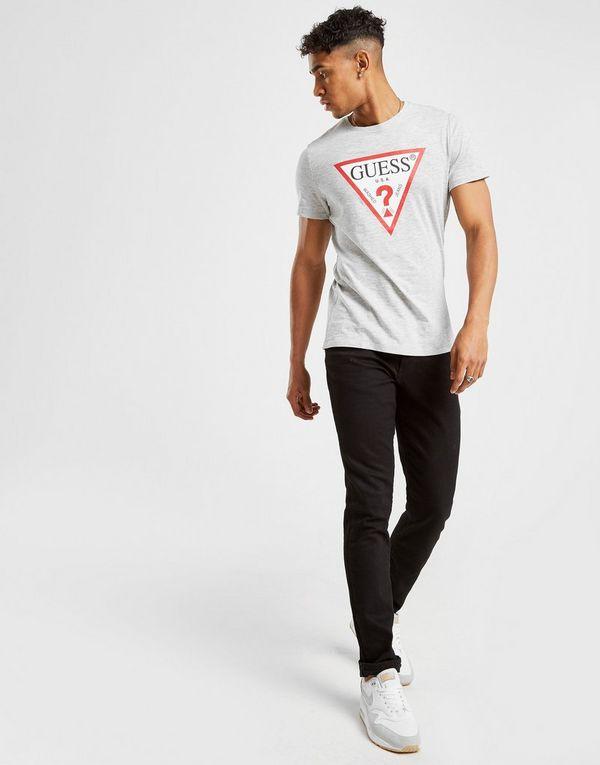 Guess Core Tri Logo Short Sleeve T-Shirt