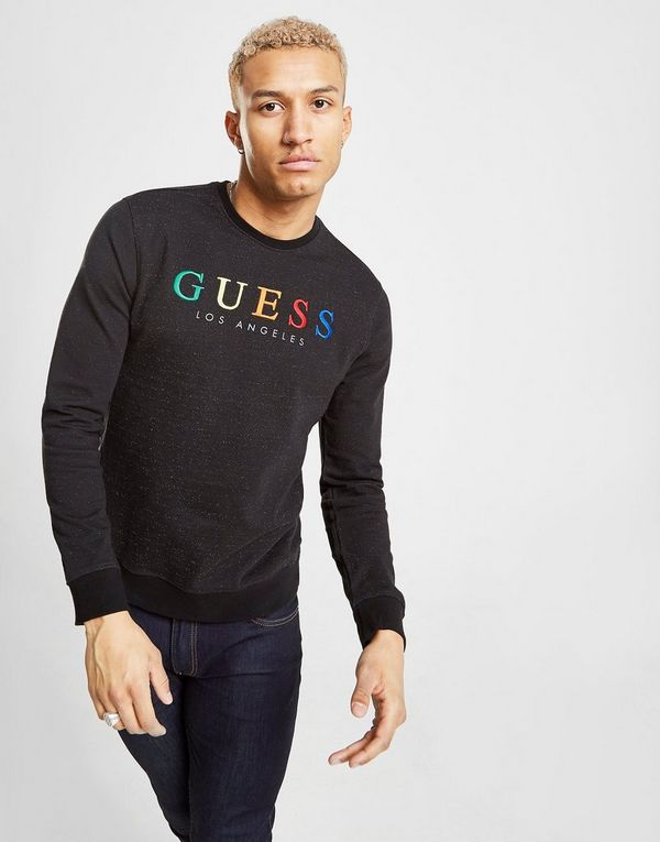 Guess Rainbow Crew Sweatshirt