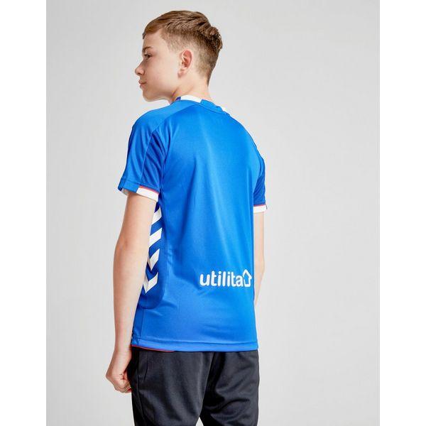 Hummel Rangers FC 2018/19 Home Shirt Junior