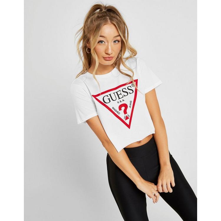 Guess camiseta Icon Crop