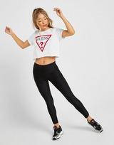 Guess Icon Crop T-Shirt Dame