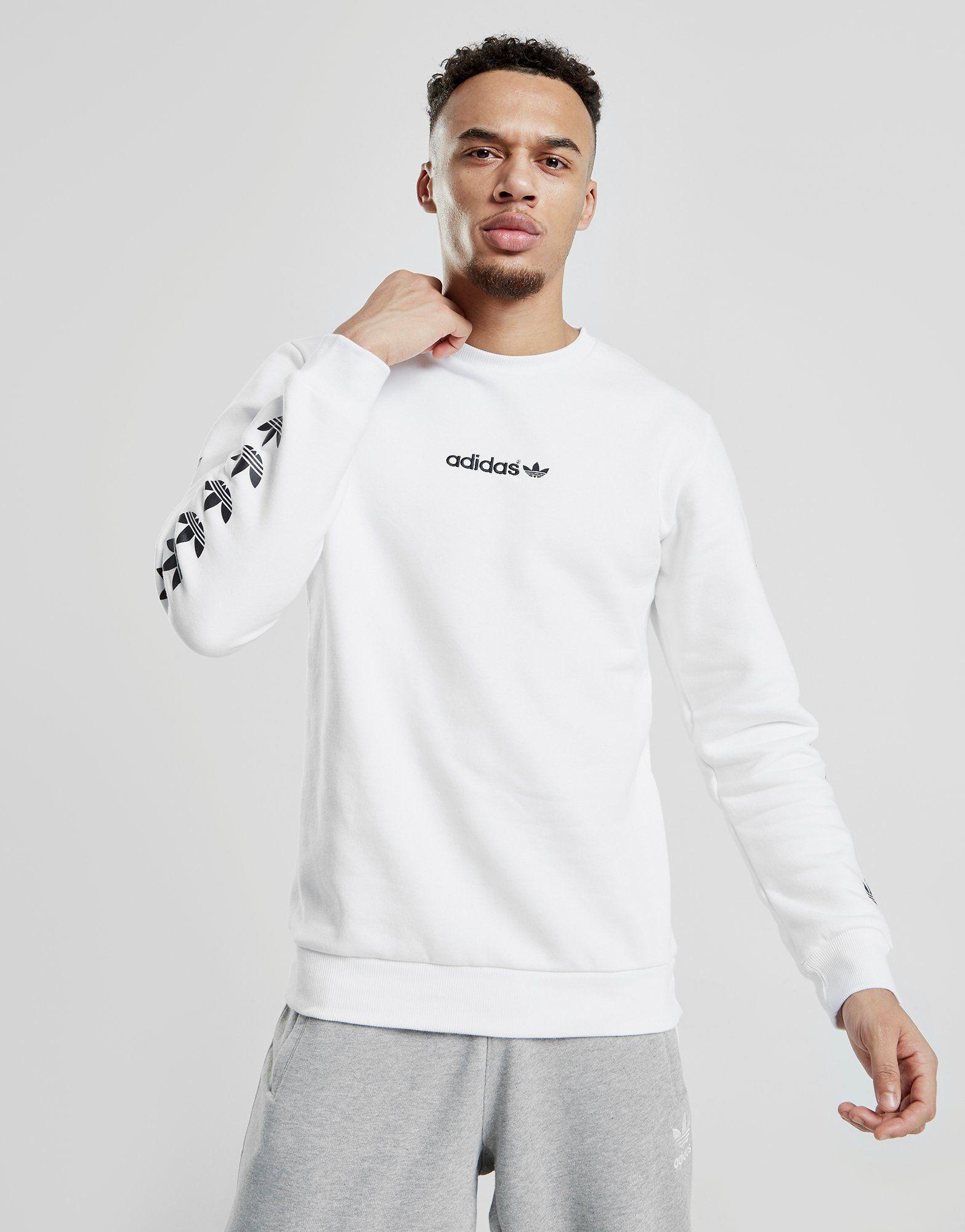 6b3f4ab6 adidas Originals Tape QQR Crew Sweatshirt   JD Sports