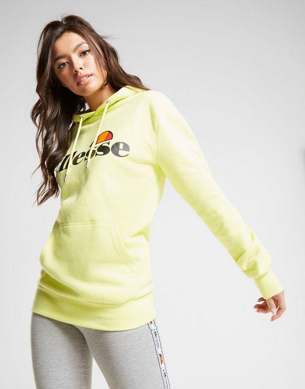9d1abd85438d Ellesse Core Boyfriend Logo Felpa con cappuccio Donna | JD Sports