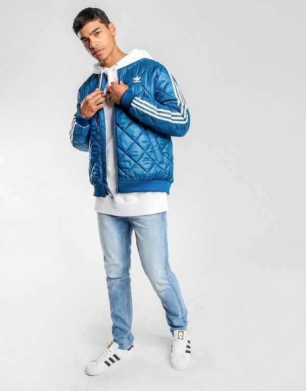 2ccbac749 adidas Originals Bomber Quilted Superstar Jacket | JD Sports