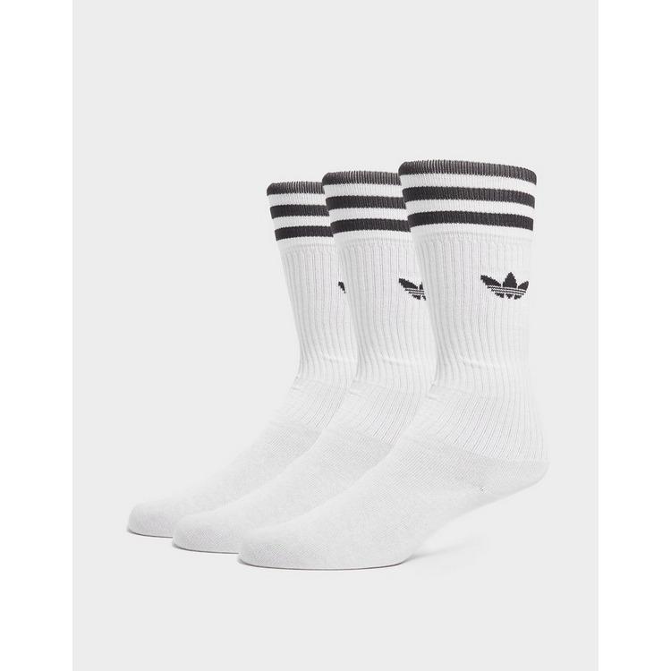 adidas Originals 3 Stripe Socks 3 Pack
