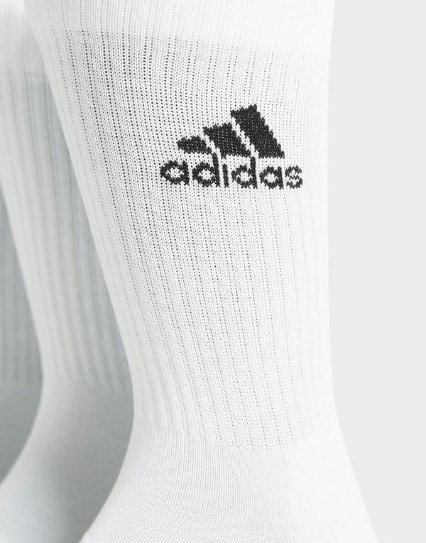 adidas pack de 3 calcetines Crew