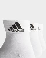 adidas 3 Pack Sport Quarter Socks