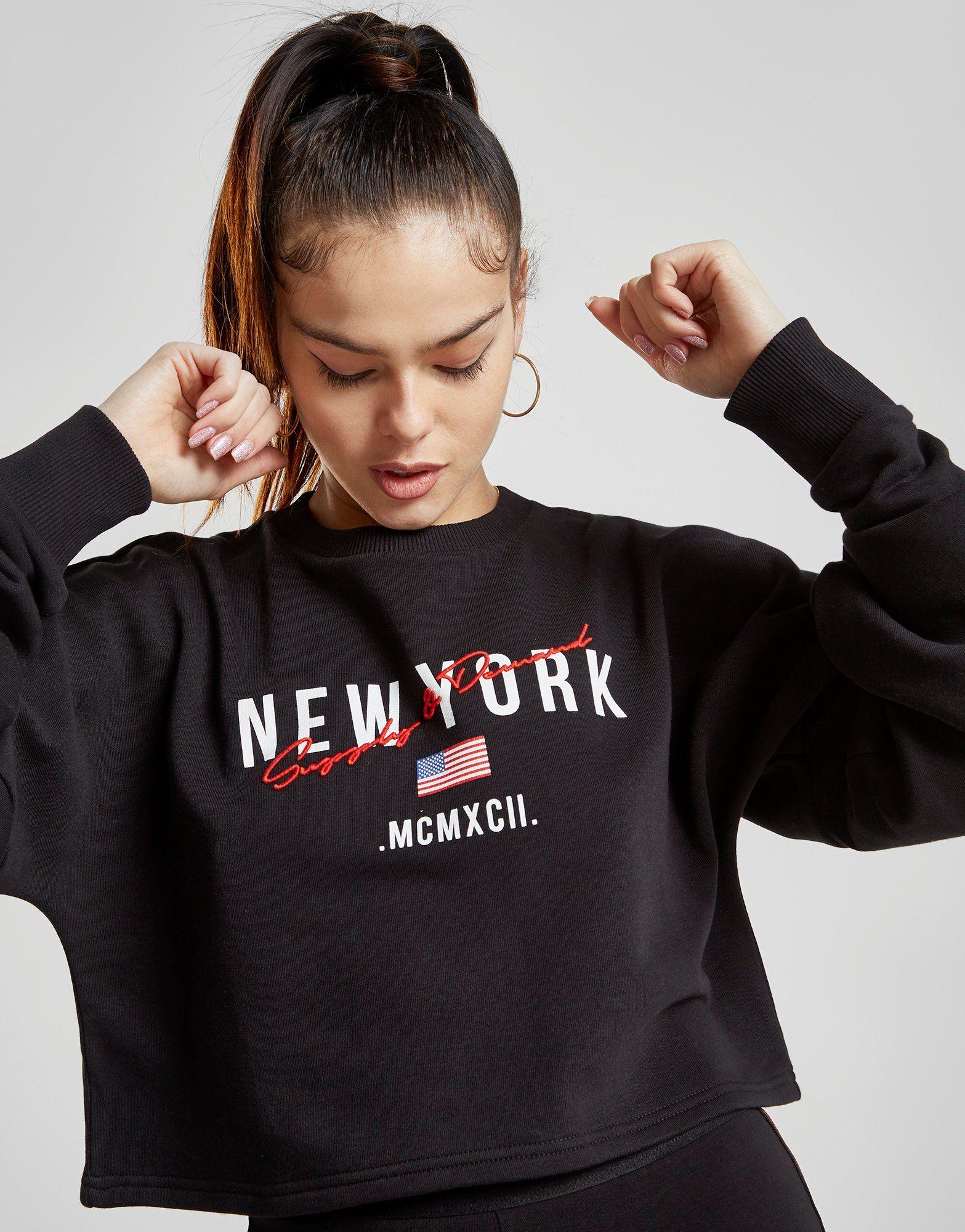 Supply & Demand New York Crop Crew Sweatshirt