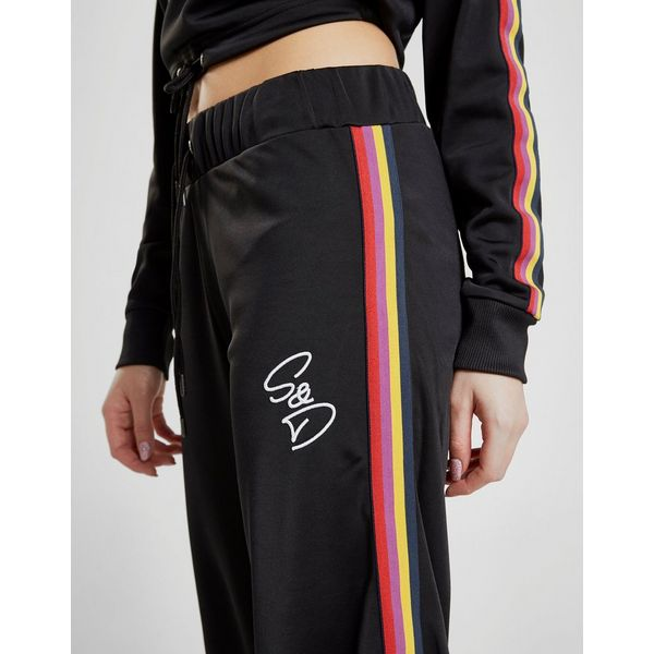 Supply & Demand Rainbow Poly Track Pants