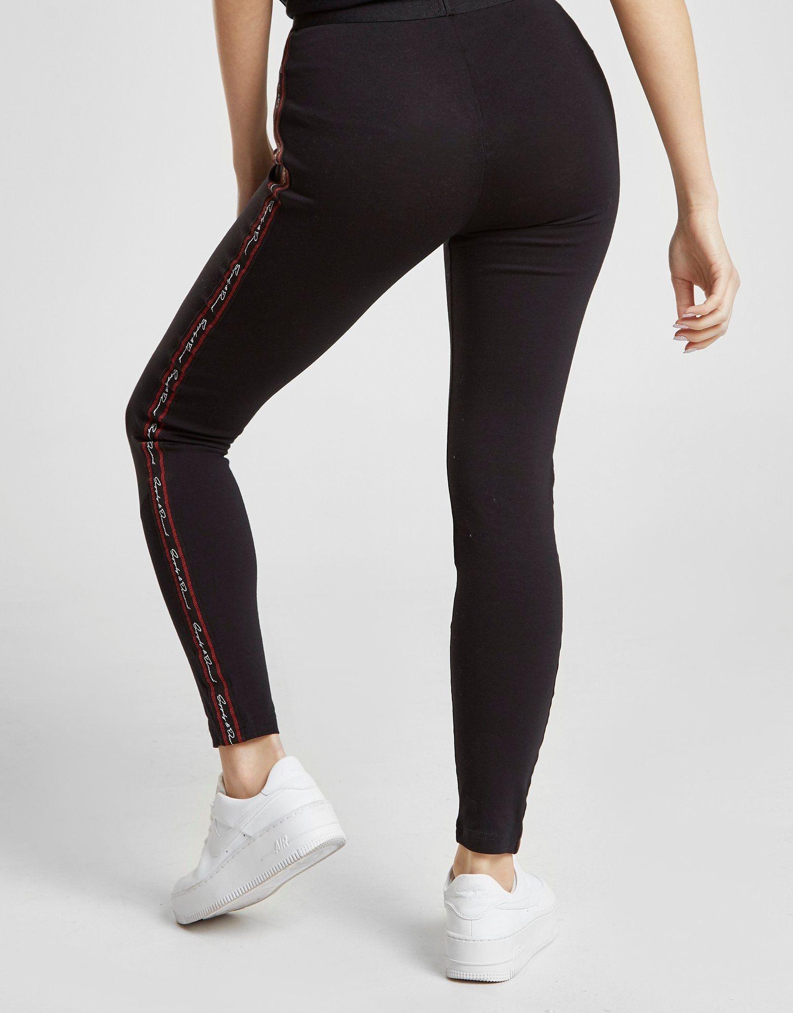Supply & Demand Meander Mesh Leggings