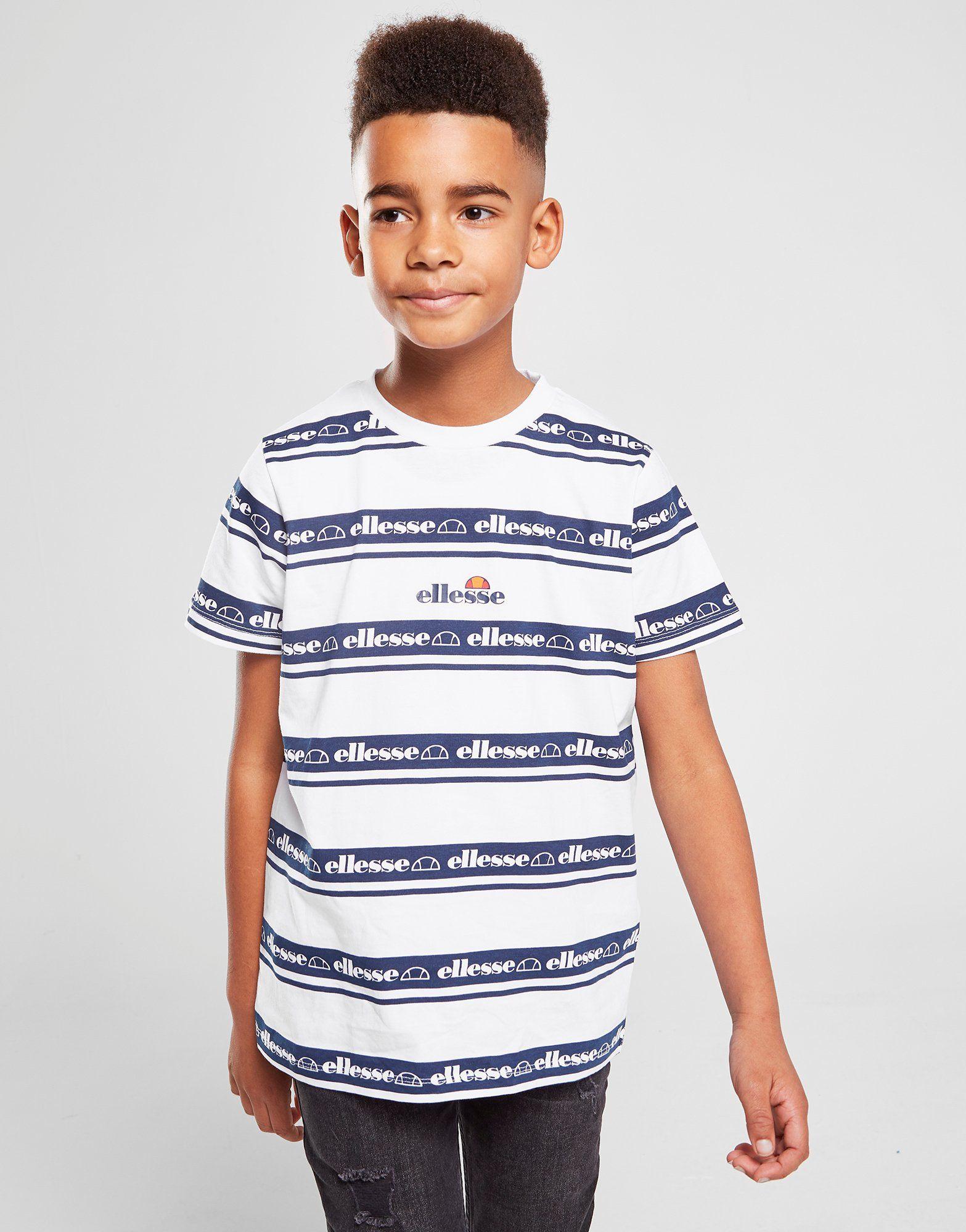 Ellesse camiseta Zartio Stripe júnior