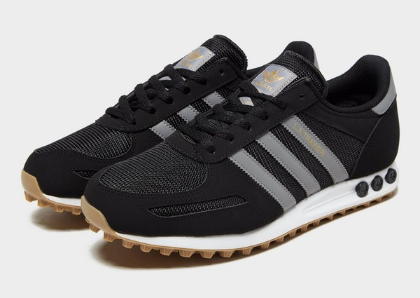 adidas LA Trainer W shoes pink white brown