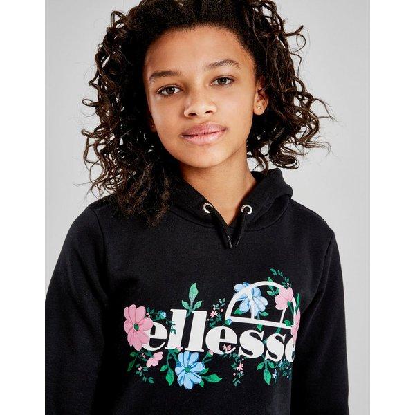 Ellesse Girls' Boyfriend Floral Overhead Hoodie Junior