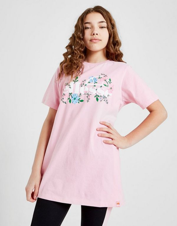 c727c00a Ellesse Girls' Boyfriend Floral T-Shirt Junior | JD Sports