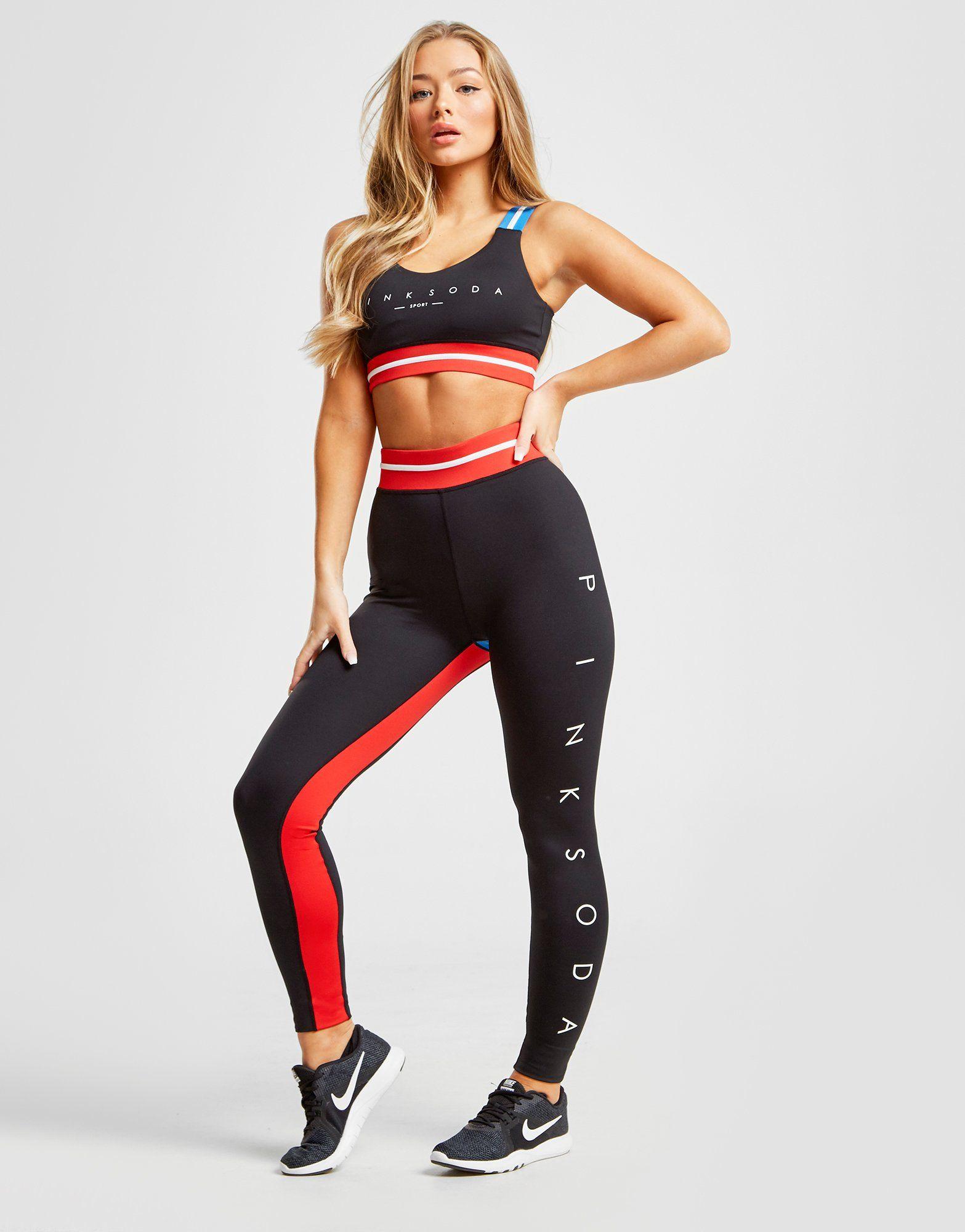 Pink Soda Sport Fitness Tights