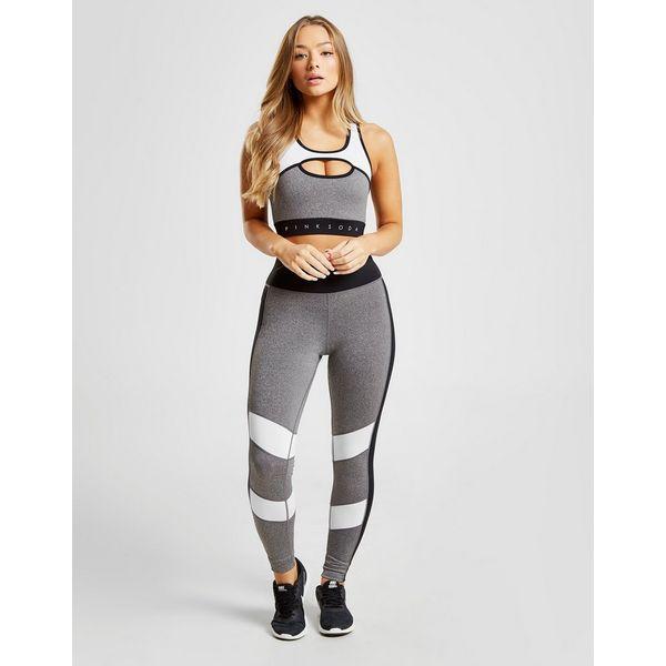 Jd Fitness Leggings: Pink Soda Sport Colour Block Fitness Tights