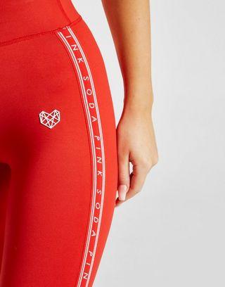 Pink Soda Sport Tape Fitness Tights
