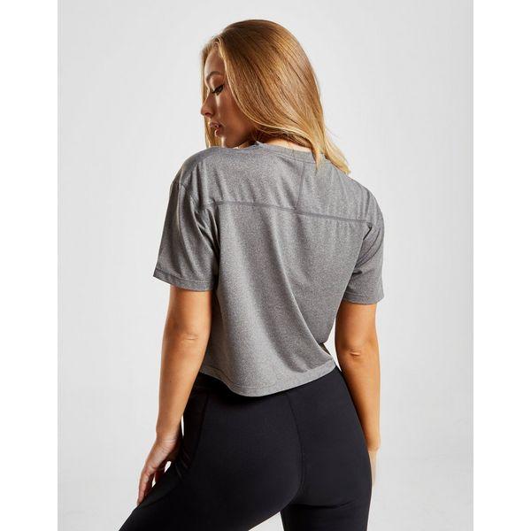 Pink Soda Sport Core Mesh Crop T-Shirt