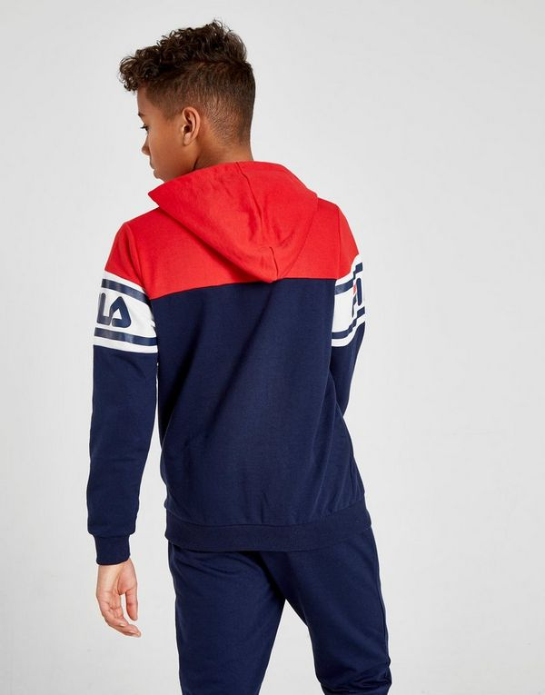 f85040354 Fila Clyde 1 4 Zip French Terry Hoodie Junior