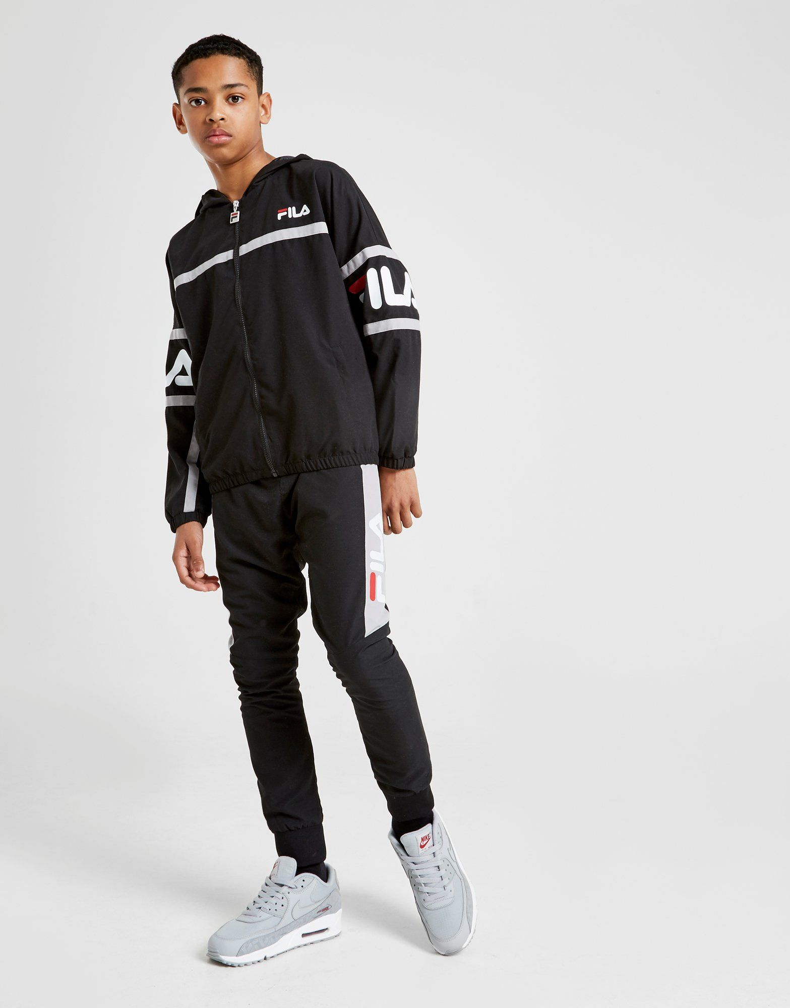 eb7783636c68 Fila Hadley Woven Tracksuit Junior | JD Sports