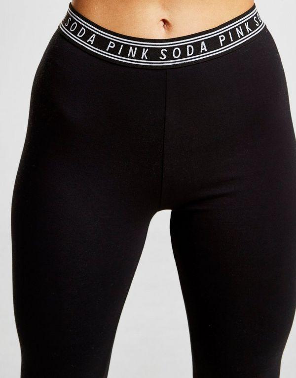 e1312a8bbdc70 Pink Soda Sport Suki Mesh Leggings | JD Sports