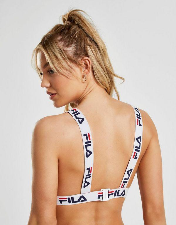 Fila sujetador de bikini Tape Logo