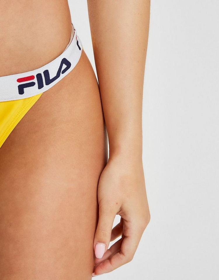 Fila Tape Logo Bikini Bottoms