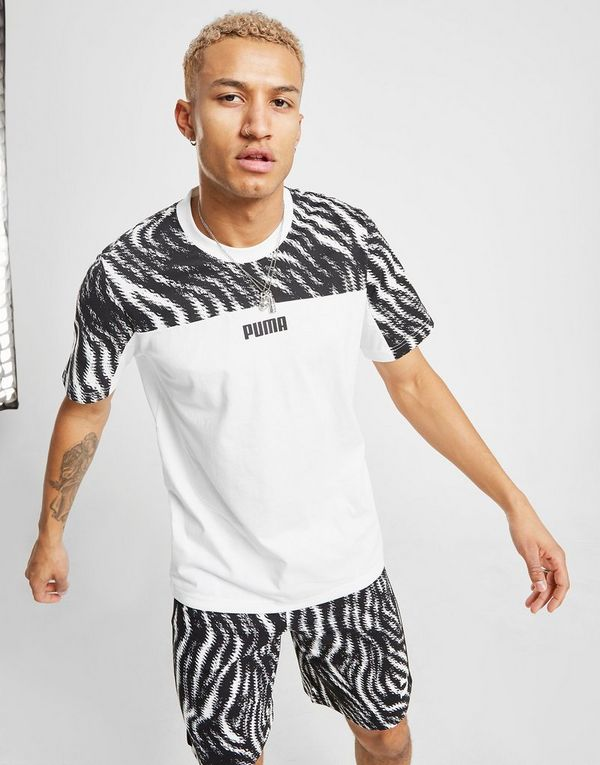 7faedff0 PUMA Wild All Over Print T-Shirt Herre | JD Sports