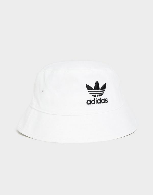 Koop Wit adidas Originals Trefoil Bucket Hat | JD Sports