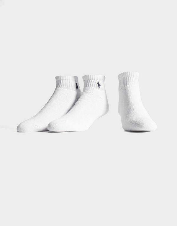 4a024306e6bf1 Polo Ralph Lauren 3-Pack Trainer Socks | JD Sports