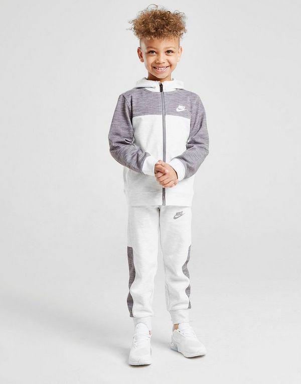 264f0d473 Nike Advance Full Zip Colour Block Tracksuit Children | JD Sports