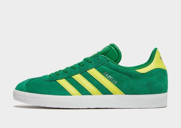 adidas Originals Green Suede Gazelle OG Sneakers STIL i  STYLE in