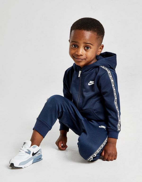 7801fa072c Nike Repeat Tape Poly Full Zip Suit Infant | JD Sports