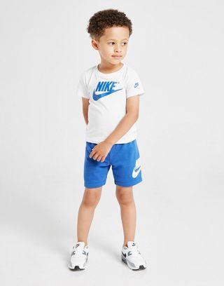 tienda oficial la mejor moda comprar Nike conjunto Futura camiseta y pantalón corto para bebé | JD ...