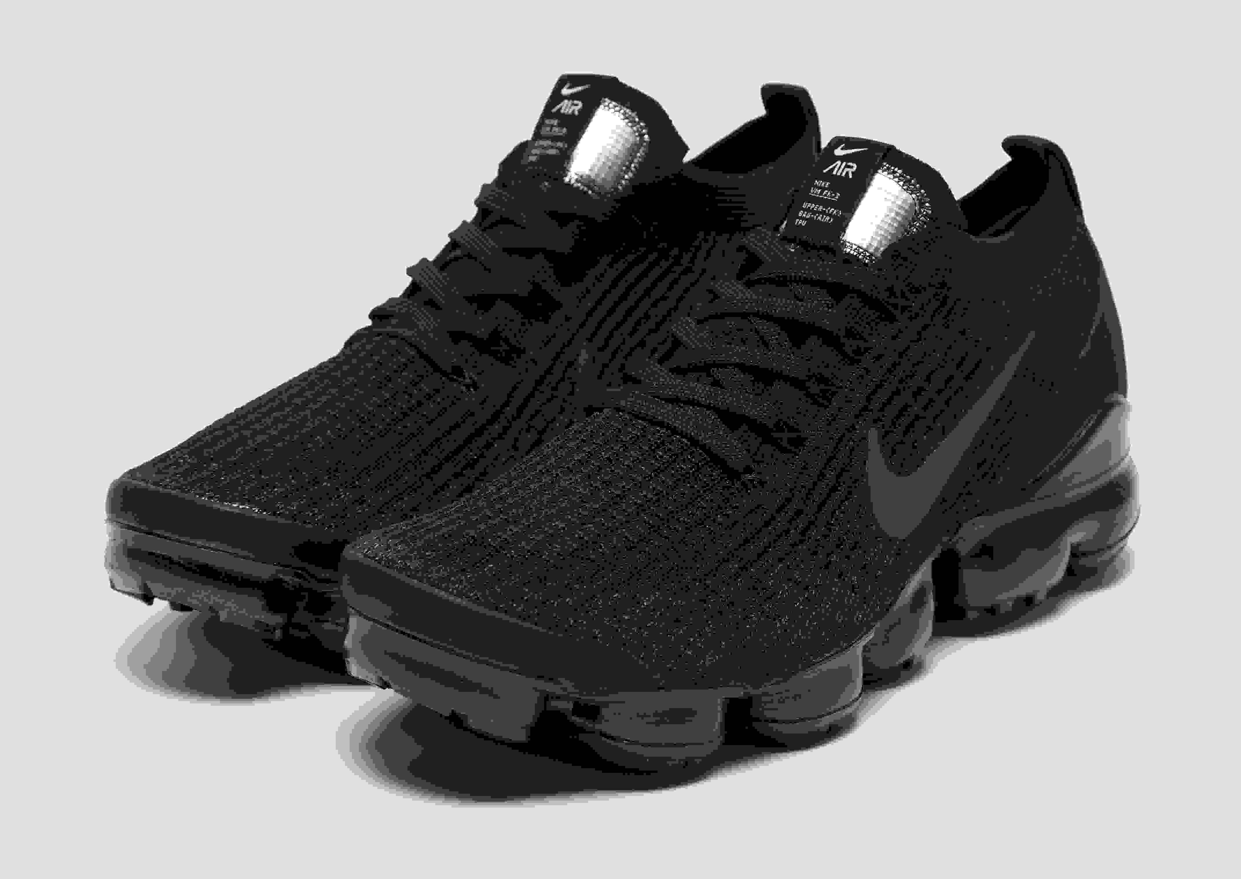 "Nike Air VaporMax Flyknit 3 ""Triple Black"" Men's Trainer All Sizes"