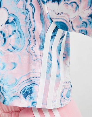 adidas Originals conjunto camiseta/pantalón corto Girls' Marble infantil