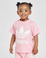 adidas Originals Girls' Trefoil T-Shirt Baby