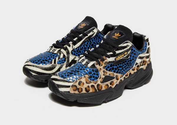 New Womens adidas Multi Falcon Synthetic Trainers Chunky Lace Up