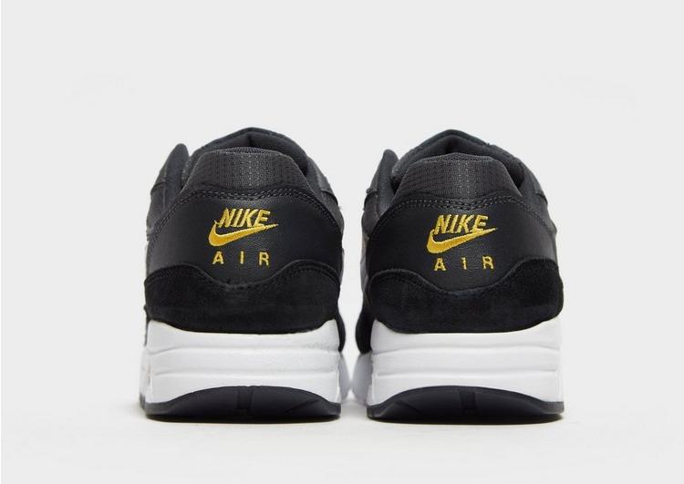 Nike Air Max 1 (GS) Sneakers AnthraciteWhiteBlackAmarillo im
