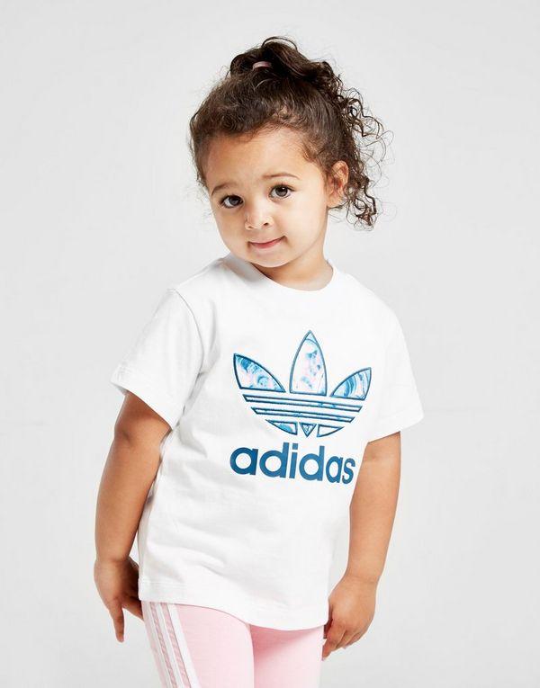 178c65d1 adidas Originals Girls' Marble Infill T-Shirt Infants | JD Sports