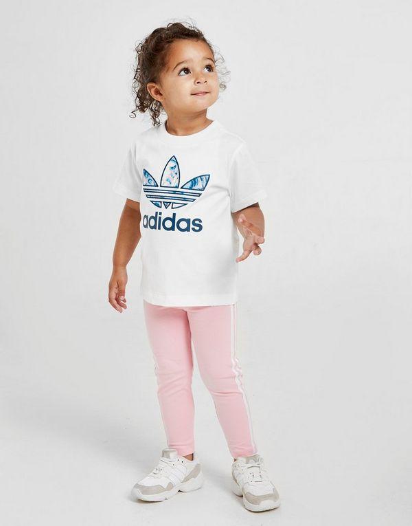 5f18a9704 adidas Originals camiseta Girls' Marble Infill para bebé   JD Sports